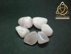 quartz rose - pierre roulée